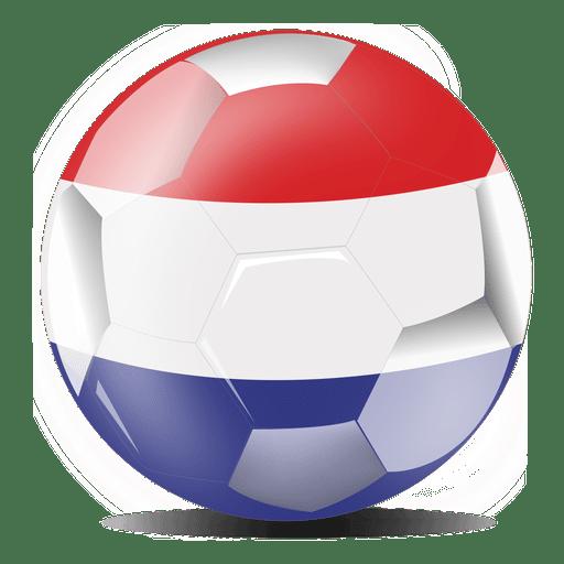 Bandera del fútbol holandés Transparent PNG