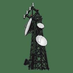 ícone da torre de rede