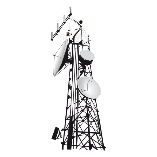 Network tower icon Transparent PNG