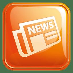 Icono cuadrado de periódico 3