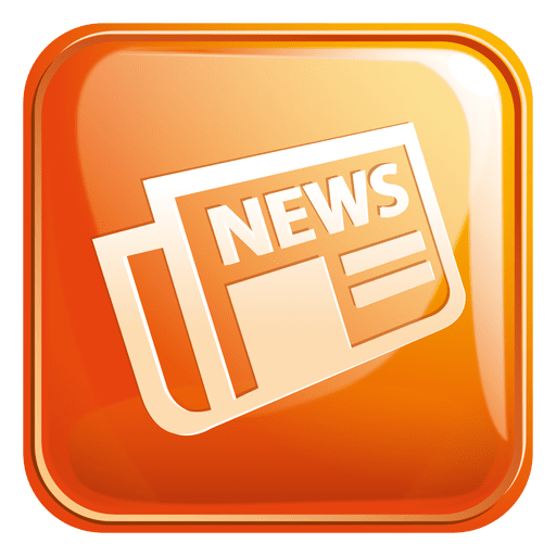Newspaper square icon 3 Transparent PNG