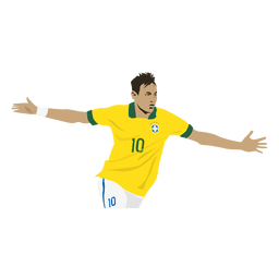 Neymar cartoon
