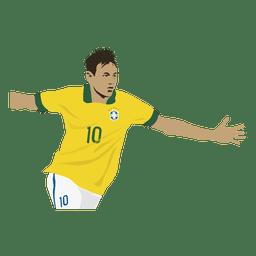 Neymar-Porträt