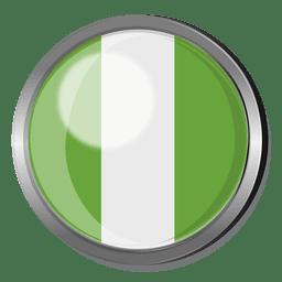 Nigeria divisa de la bandera