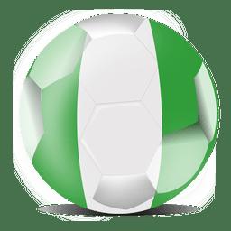 Bandeira do futebol da Nigéria