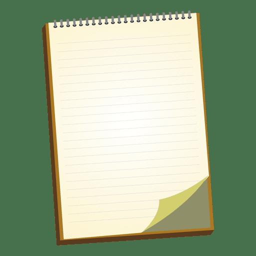 Cuaderno de dibujos animados 1 Transparent PNG