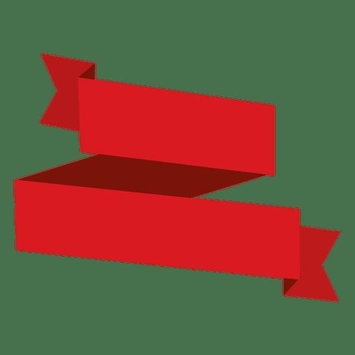 Fita vermelha de origami Transparent PNG