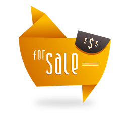Origami sale label
