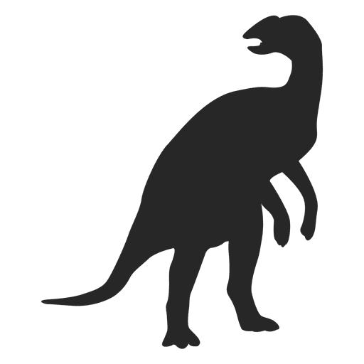 Silueta de ornitópodo Transparent PNG