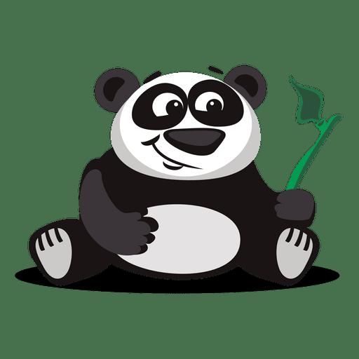 Panda-Karikatur Transparent PNG