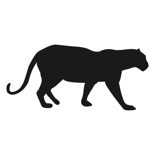 panther silhouette transparent png svg vector