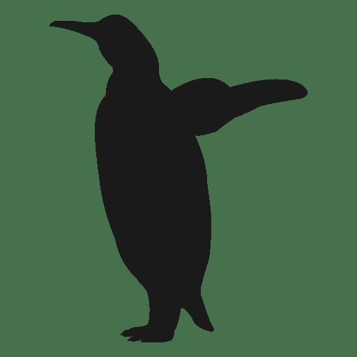 penguin silhouette - transparent png & svg vector