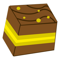 de dibujos animados de la torta Pestry
