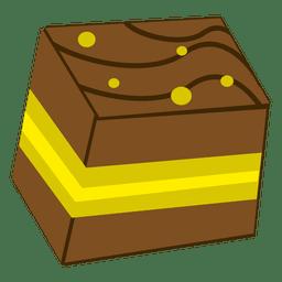 Pestry desenhos animados bolo