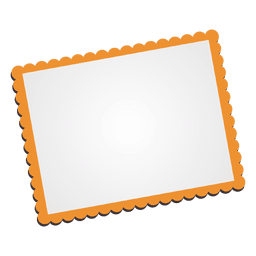 Photo frame cartoon