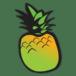 Ananas-Karikatur