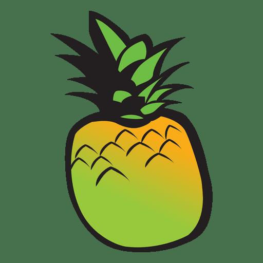 Dibujos animados de piña Transparent PNG