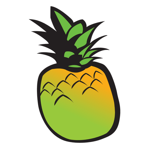 Pineapple cartoon Transparent PNG