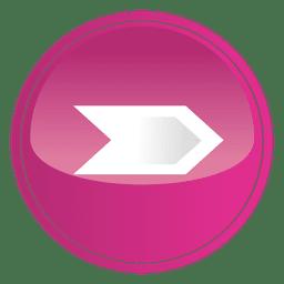 Pink round arrow button
