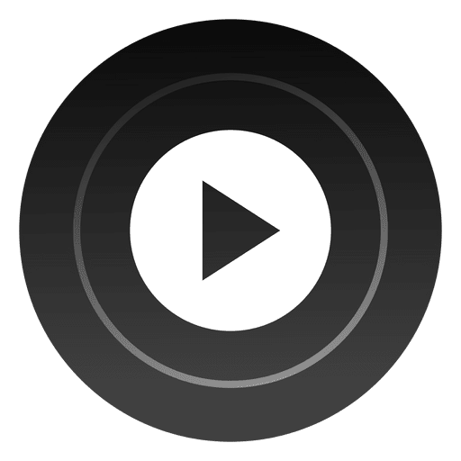 Play round button Transparent PNG