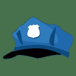 Dibujos animados de sombrero de policia
