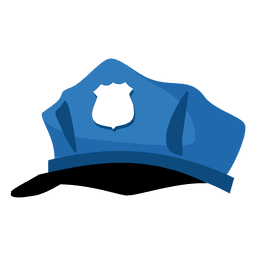 Police hat cartoon