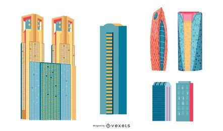 Japanische Gebäude