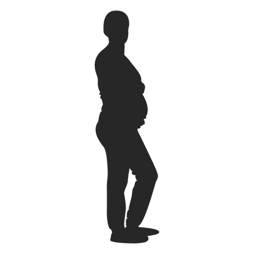 Pregnant lady standing 4 Transparent PNG