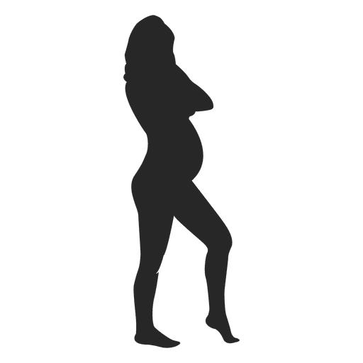 Pregnant lady standing 6 Transparent PNG