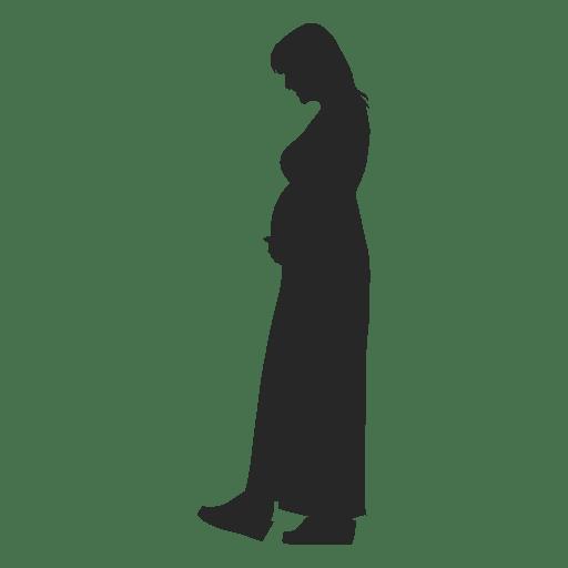Senhora grávida andando 5 Transparent PNG