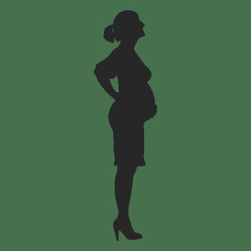 Mulher grávida, ficar, 5 Transparent PNG