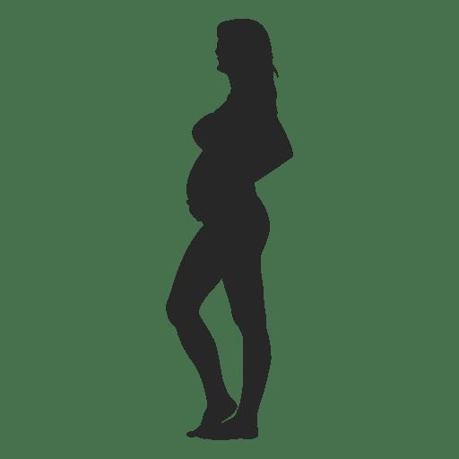 Mulher grávida, ficar, 6 Transparent PNG