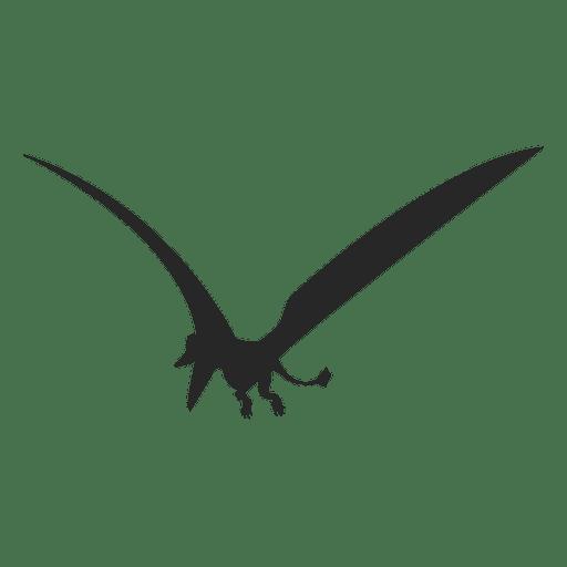 Silueta de pterosaurio 1 Transparent PNG