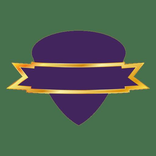Purple badge 2 Transparent PNG