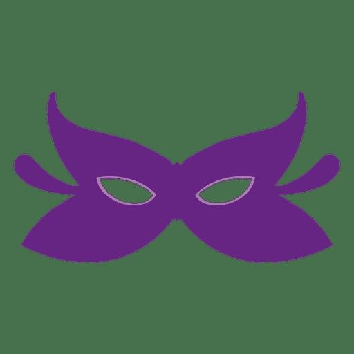 Máscara de carnaval roxo Transparent PNG