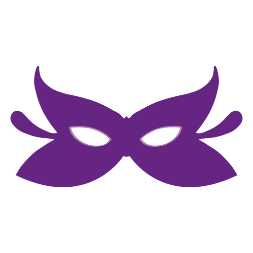 Purple carnival mask Transparent PNG