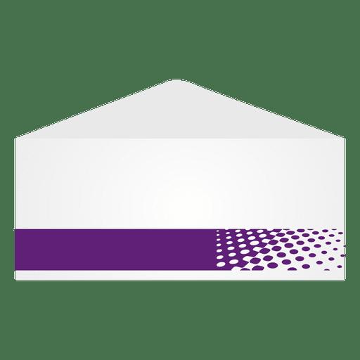 Meios-tons roxos envelop Transparent PNG