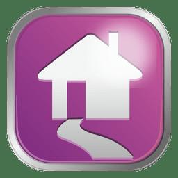 Lila Haussymbol