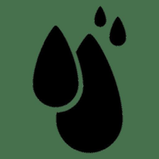 Rain drops icon Transparent PNG