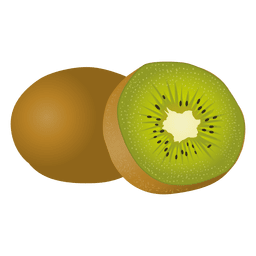 Realistic kiwi