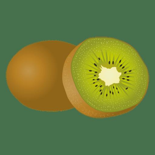 Kiwi realista Transparent PNG