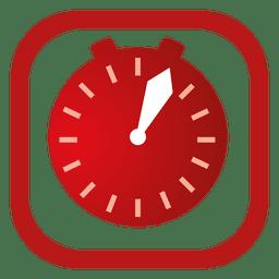 Botón de alarma rojo