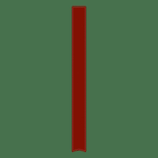Red bookmark Transparent PNG