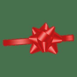 Decoracion cinta roja