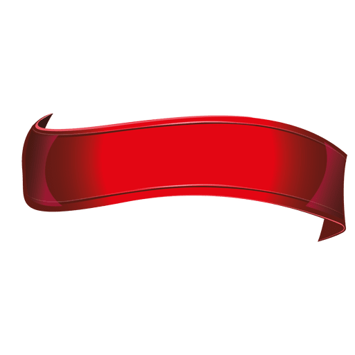 Red ribbon wave
