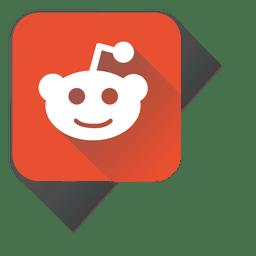 Ícone quadrado Reddit