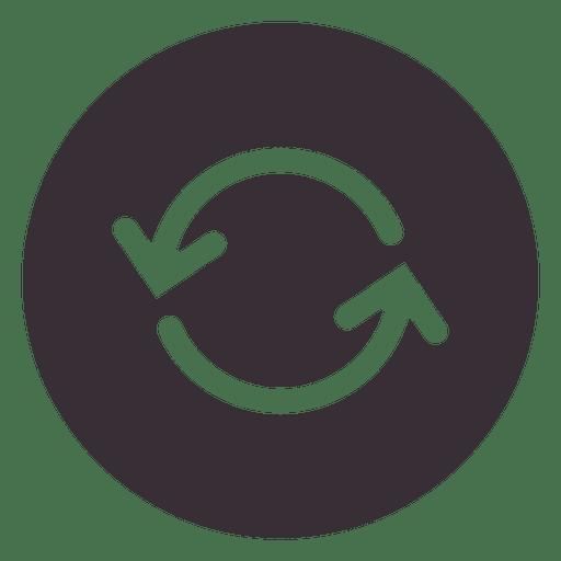 Refresh arrow sign