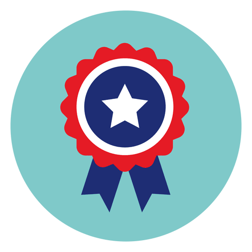 Ribbon badge round icon - Transparent PNG & SVG vector
