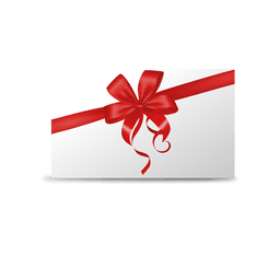 Ribbon greeting card