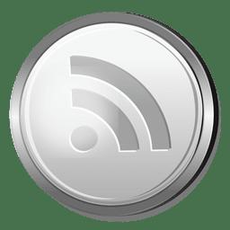 Icono de plata Rss
